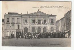 Nontron Remise De La Médaille Commémorative Aux Combattants De 1870 - Nontron