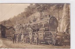 Biasca - Stazione - Locomotiva Ferr.S.Gottardo - Cartolina Foto - Rara    (01210) - TI Tessin