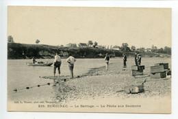 Bergerac Le Barrage La Pêche Aux Saumons - Bergerac