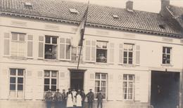 Zwijndrecht  FOTOKAART  Inkwartiering Duitse Soldaten Tijdens De Eerste Wereldoorlog - Zwijndrecht
