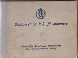 3834319Scheepvaart PHOTO-SET Koninklijke Paketvaart Maatschappij Met 20 Foto's (uitgave 1931) - Dampfer