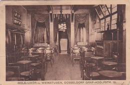 3834359Düsseldorf, Bols-Likor-u. Weinstuben. Graf-Adolfstr.18 (kleines Falte Im Ecken – Sehe Rückseite) - Duesseldorf