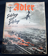 DER ADLER  HEFT 19 BERLIN  17 SEPTEMBER  1940  - TRES BON ETAT  - PRACHTIGE STAAT  32 SEITEN  / 32 BLZ      2 SCANS - 1939-45