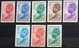 COTE D'IVOIRE                  Les Timbres Du Type E                     NEUF SANS GOMME - Unused Stamps