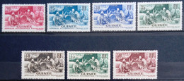 GUINEE                  Les Timbres Du Type E                     NEUF SANS GOMME - Unused Stamps