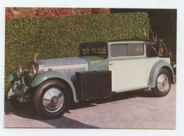 ROLLS ROYCE Ph II  1930 - Carro, Car, Automobile, Voiture, Coche (2 Scans) - Toerisme