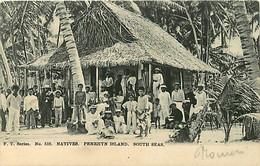 NATIVES PENRHYN ISLAND SOUTH SEAS - Cook Islands