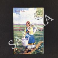 #CPA316 - HRODNA GRODNO RUFFEN TYPEN - Novembre 1920 - POLOGNE - Femme Illustration - Polen