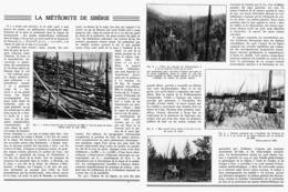LA METEORITE De SIBERIE   1939 - Astronomie