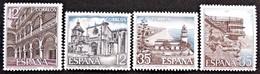 Série Complète  Edifil N° 2835 à 2838 - 1981-90 Oblitérés