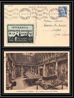 6781 Esperanto Vignette 1948 Fecamp Krag Ttb France Carte Postale (postcard) - 1921-1960: Periodo Moderno