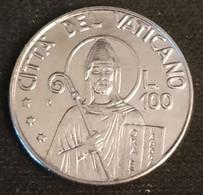VATICAN - VATICANO - 100 LIRE 1990 - Jean Paul II - KM 223 - Vatican