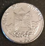 VATICAN - VATICANO - 50 LIRE 1990 - Jean Paul II - KM 222 - Vatican