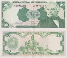 Venezuela / 20 Boliviares / 1989 / P-63(b) / AUNC - Venezuela