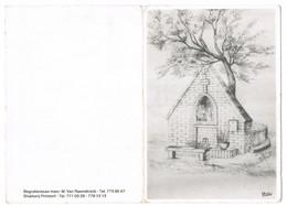 Temse: 1985 - Georges De Cleen ( 2 Scans) - Devotion Images