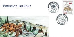 Carte MAXIMUM - TORTUE TERRESTRE - Rotary Club DRAGUIGNAN - - 1990-99