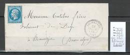 France - Lettres - GC 2805 - Pelissanne - Bouches Du Rhone - T22 -1866 - 1849-1876: Periodo Clásico