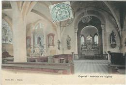 Yvelines : Orgeval, Interieur De L'Eglise - Orgeval