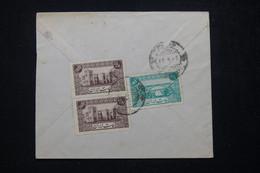 ARABIE SAOUDITE - Affranchissement Au Verso D'une Enveloppe, à Voir - L 81703 - Arabie Saoudite