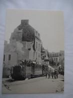 SAINT-MALO (35) : Rochebonne Le Tramway à Vapeur Pour Rothéneuf En 1906 - REPRODUCTION De CPA - Saint Malo