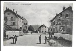 POSTCARD OF BONCOURT , ENTRÉE AU VILLAGE , 1909 . - JU Jura