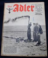 DER ADLER  NUMERO 22 BERLIN   3 NOVEMBRE  1942  - TRES BON ETAT  - PRACHTIGE STAAT  32 SEITEN  / 32 BLZ      2 SCANS - 1939-45