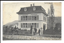 POSTCARD FROM MUHEN ( AARGAU ) , 1908 . - AG Aargau