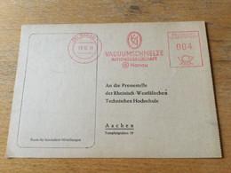 K13 BRD 1951 Karte Mit Afs Von Hanau - Storia Postale