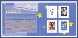 FRANCE La Cinemathèque Française. Centenaire Henri LANGLOIS. Chaplin; Les Enfants Du Paradis; Fantomas; Film, Movie. - Cinema