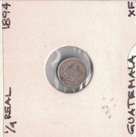 Guatemala 1/4 Real 1894 - Guatemala