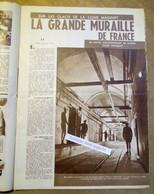 """1940 Magazine Belge Avec Articles """"Ligne Maginot, Strasbourg Ville Endormie"""" - 1939-45"""