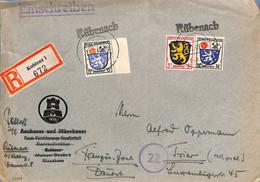 Allemagne Zone Française  1946  Lettre DeKoblenz (G0234) - Franse Zone