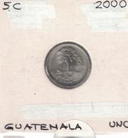 Guatemala 5 Centavos 2000 UNC - Guatemala