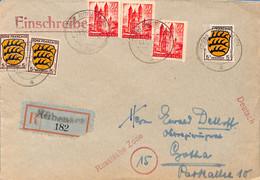 Allemagne Zone Française  194.. Lettre De Rubenach  (G0241) - Franse Zone