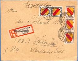 Allemagne Zone Française  1947  Lettre De Langenhahn   (G0243) - Franse Zone