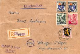 Allemagne Zone Française  1947  Lettre De Mayen   (G0268) - Franse Zone