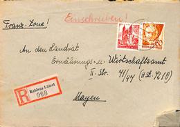 Allemagne Zone Française  1948  Lettre De Koblenz  (G0270) - Franse Zone