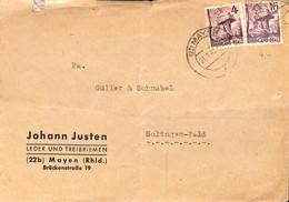 Allemagne Zone Française  1949  Lettre De Mayen   (G0271) - Franse Zone
