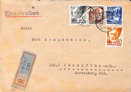 Allemagne Zone Française  1947  Lettre De  Neuwied   (G0280) - Franse Zone