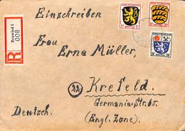 Allemagne Zone Française  1946  Lettre De  Neuwied   (G0281) - Franse Zone