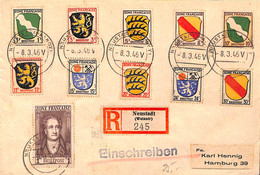 Allemagne Zone Française  1946  Lettre De  Neustadt    (G0282) - Franse Zone