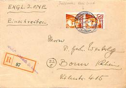 Allemagne Zone Française  1948  Lettre De  Waldbreitbach   (G0283) - Franse Zone