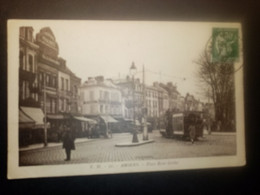 """11040""""AMIENS-PLACE RENE' GOBLET""""TRAMWAY -ANIMATA-VERA FOTO- CART SPED 1937 - Amiens"""