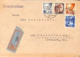Allemagne Zone Française  1947  Lettre De  Neuwied    (G0287) - Franse Zone