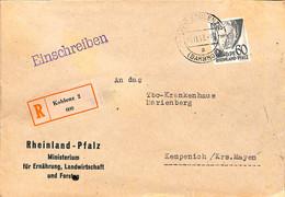 Allemagne Zone Française  1948   Lettre De  Koblenz  (G0295) - Franse Zone