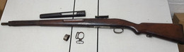 Crosse Complète Pour Fusil Mauser Mod 32 Péruvienne - Armi Da Collezione