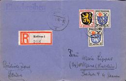Allemagne Zone Française  1946   Lettre De Koblenz   (G0304) - Franse Zone
