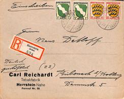Allemagne Zone Française  1946   Lettre De Herrstein    (G0305) - Franse Zone