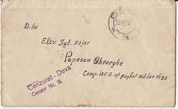 92444- MILITARY POST OFFICE NR 30, CENSORED DEVA NR 11, WW2 LETTER, 1942, ROMANIA - 2. Weltkrieg (Briefe)