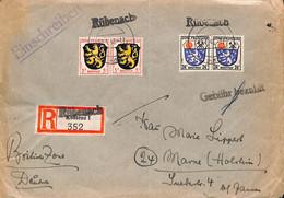 Allemagne Zone Française  1948   Lettre De Rubenach     (G0311) - Franse Zone